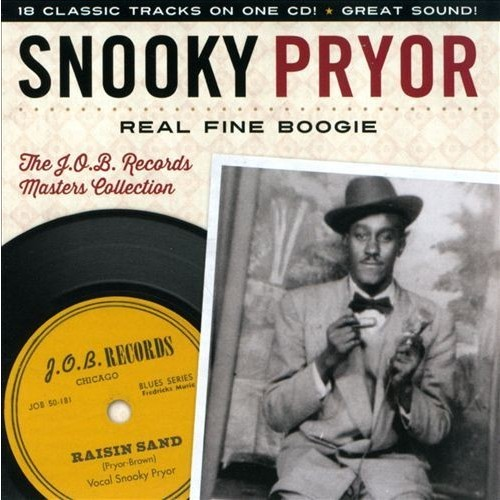 Real Fine Boogie: The J.O.B. Records Masters Collection [CD]