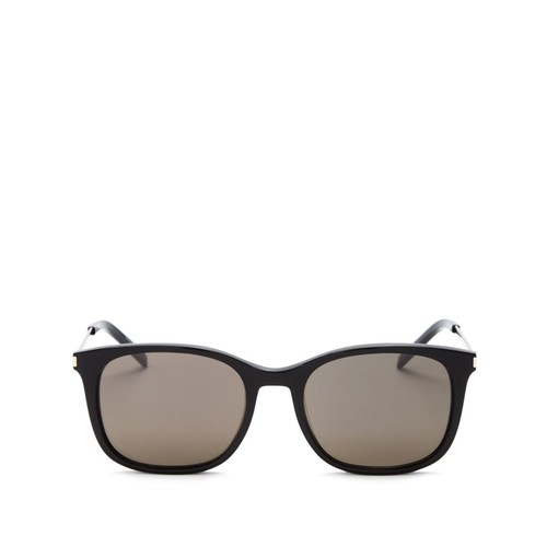 SAINT LAURENT Thin Square Sunglasses, 53Mm