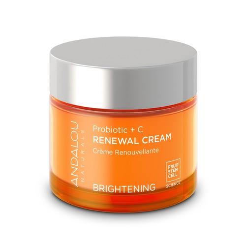 Andalou Naturals Probiotic + C Renewal Cream, 1.7 OZ