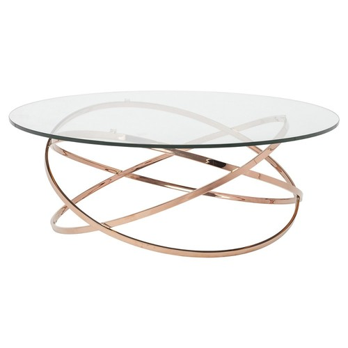 Elise Coffee Table, Copper