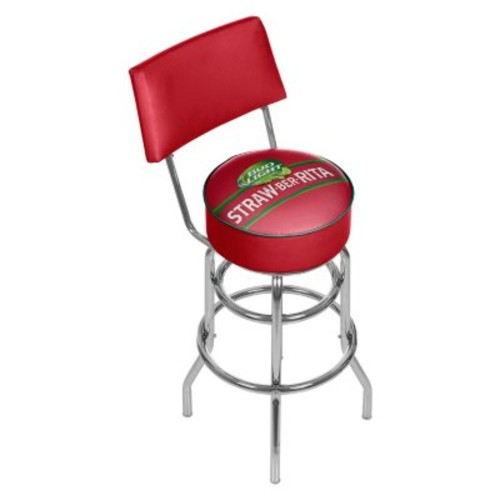 Bud Light Swivel Bar Stool with Back (Assorted Styles) [OriginalStyle : :Straw; style :]