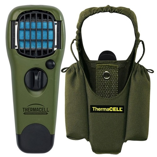 ThermaCELL Mosquito Repellent Outdoor Repellent Device & MR-HJ Holster (Olive)