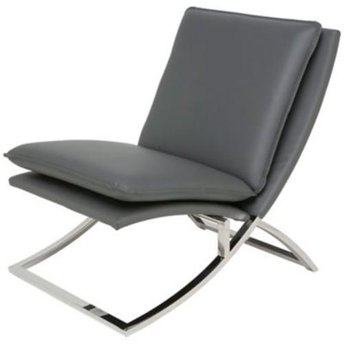 Nuevo Neo Lounge Chair; Grey