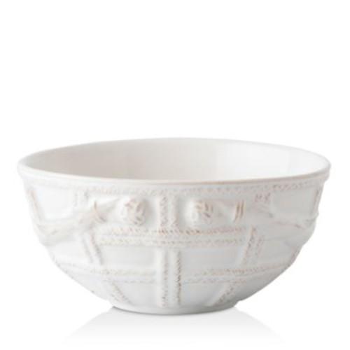 Le Panier Whitewash Basket Cereal/Ice Cream Bowl