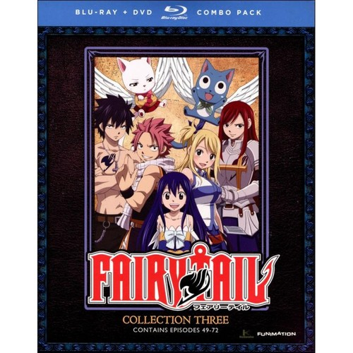 Fairy Tail: Collection Three (Blu-ray Disc) (2 Disc)
