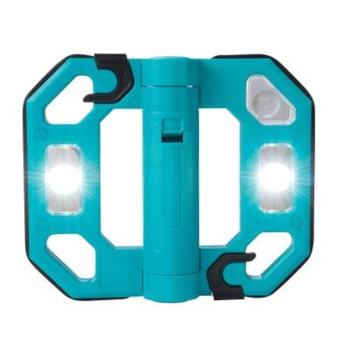 Might-D-Light 200-Lumen Mini Compact Folding LED Work Light - Teal