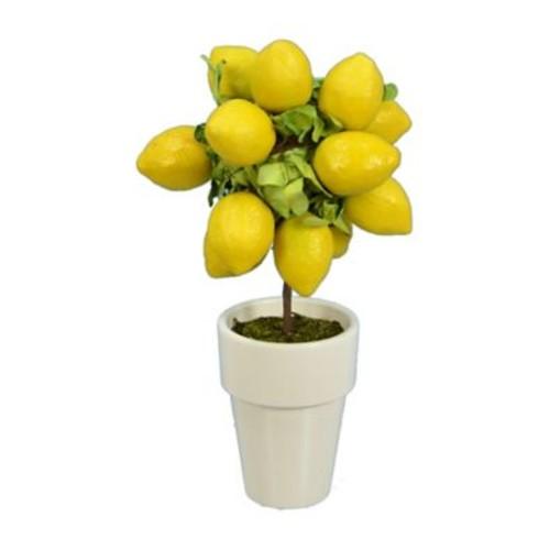 Fantastic Craft Lemon Round Topiary in Pot