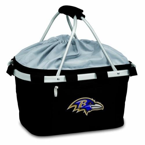 Picnic Time Baltimore Ravens Metro Basket [Black]