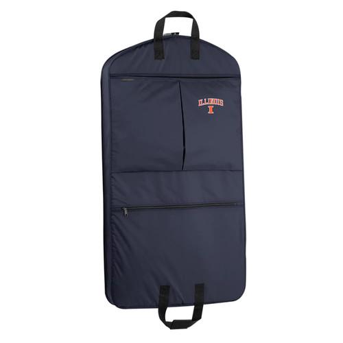 WallyBags Illinois Fighting Illini 40-Inch Garment Bag