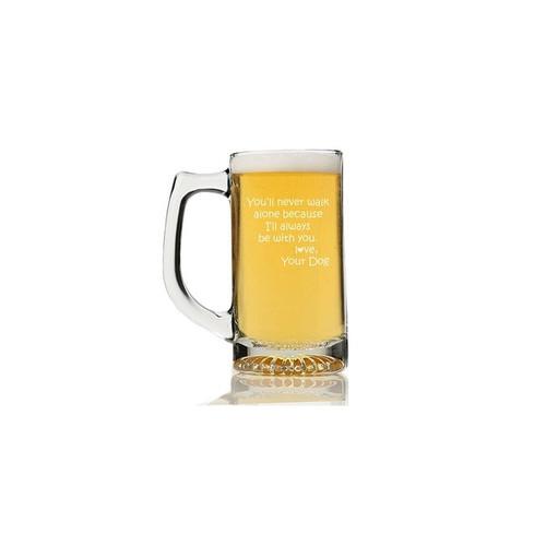 You'll Never Walk Alone Beer Mug (Set of 4)