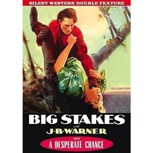 Silent Western Double Feature: Big Stakes (DVD)