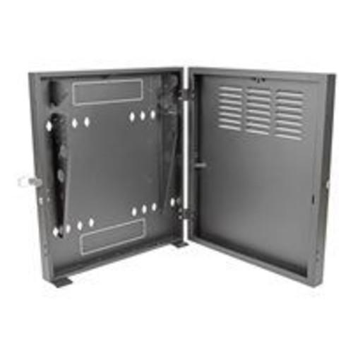 Tripp Lite SmartRack 2U Wall Mount Low-Profile Vertical-Mount Switch-Depth Rack Enclosure Cabinet, Black (SRWF2U)