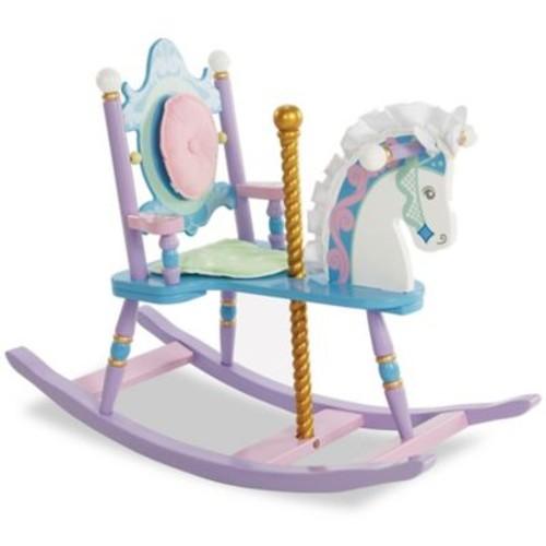 Wildkin Kid's Carousel Rocking Horse