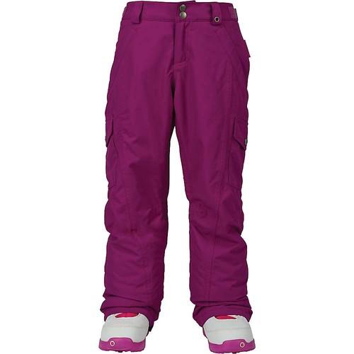 Burton Youth Girls Elite Cargo Pants [Grapeseed, Large]