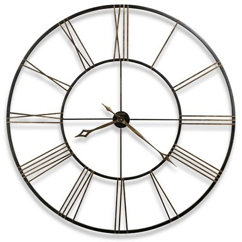 Postema Aged Black Wall Clock
