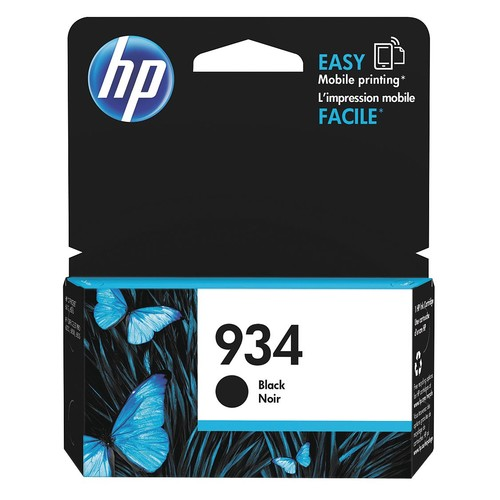 HP Ink Cartridge, No. 934, Black