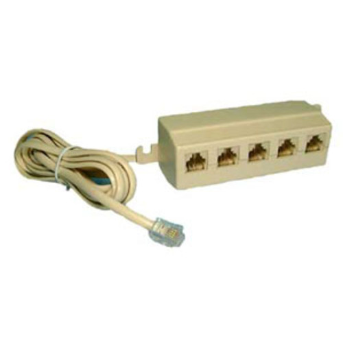 5-WAY TELEPHONE OUTLET