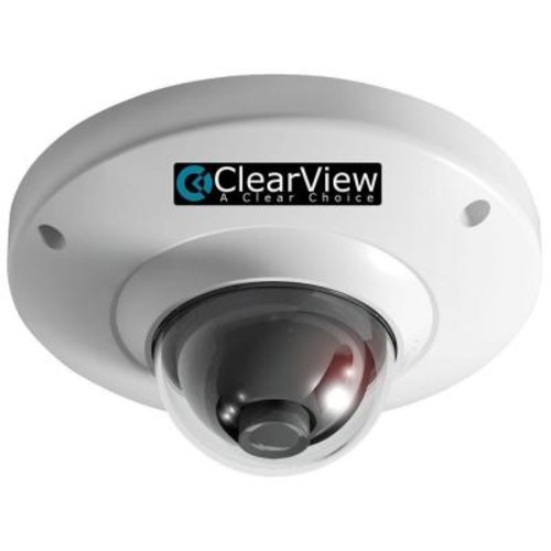 ClearView Wired 700 TVL Indoor Vandal-Proof Mini Dome OSD 3.6 Surveillance Camera