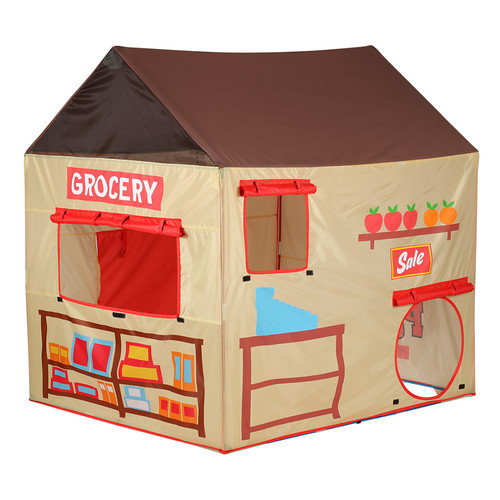Pacific Play Tents Kids Grocery Store and Puppet Theater House Tent Playhouse - 58