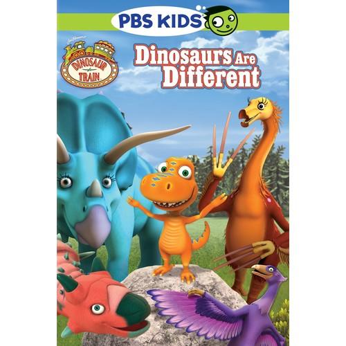 Dinosaur Train: Dinosaurs Are Different [DVD]