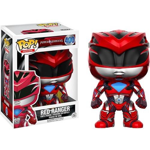 Funko - Pop! Movies Power Rangers: Red Ranger