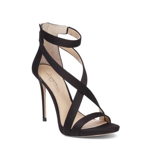 Women's Devin Satin High Heel Ankle Strap Sandals