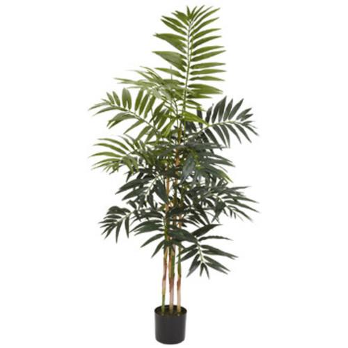 Nearly Natural 4-Foot Bamboo Palm Silk Tree