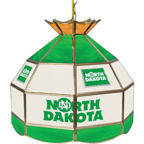 Trademark Games North Dakota Fighting Hawks 16'' Tiffany Lamp