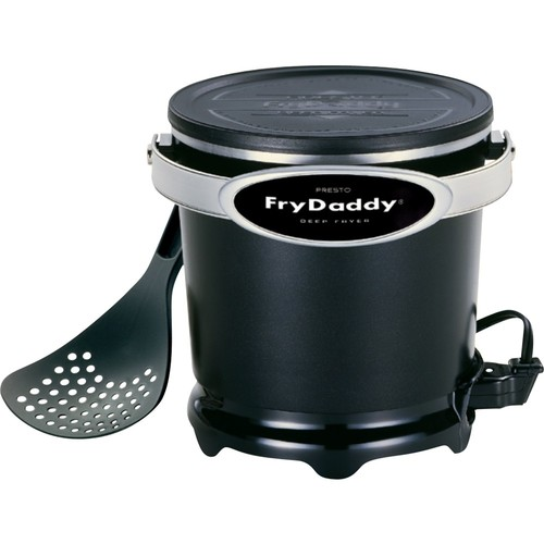 Presto 05420 FryDaddy Electric Deep Fryer [Black, One Size]