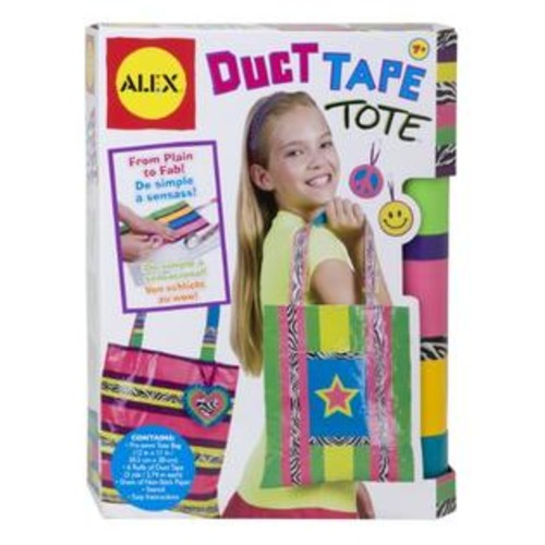 ALEX Toys Do-it-Yourself Wear Duct Tape Tote