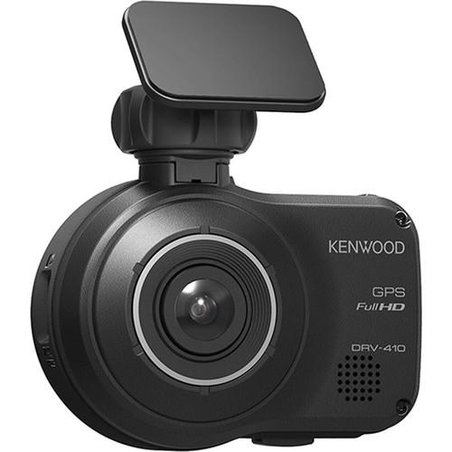Kenwood DRV-410 HD dash cam and safety sensor