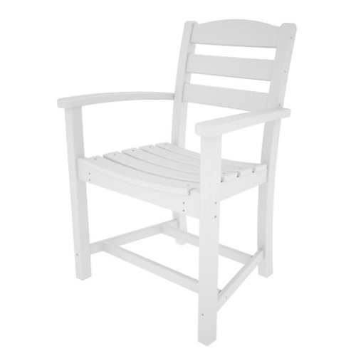 Nantucket Dining Armchair, White