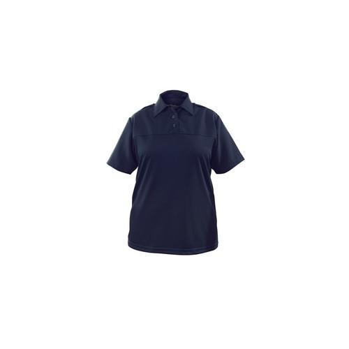 Elbeco Womens Navy, Uv1 Undervest Short Sleeve Shirt