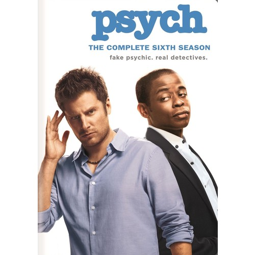 Psych: The Complete Sixth Season [4 Discs] [DVD]