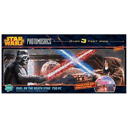 Star Wars Panoramic Photomosaics 750-Piece Duel on the Death Star Jigsaw Puzzle
