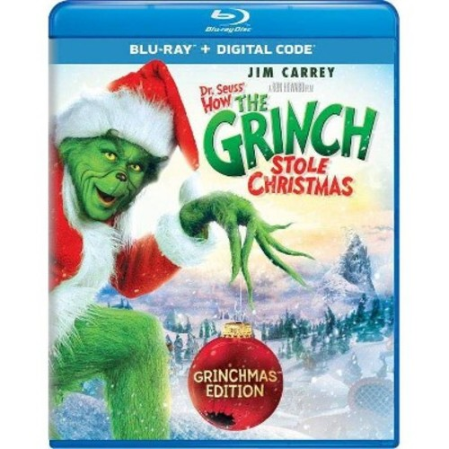 Dr. Seuss' How the Grinch Stole Christmas: Grinchmas Edition [Blu-ray] [2000]