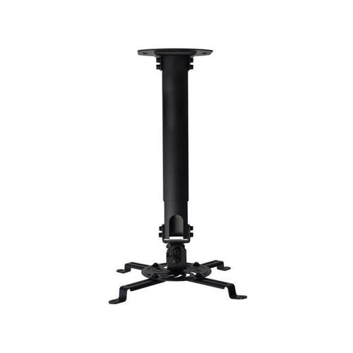 VIVO Universal Extending Black Ceiling Projector Mount / Height Adjustable Projection (MOUNT-VP02B)