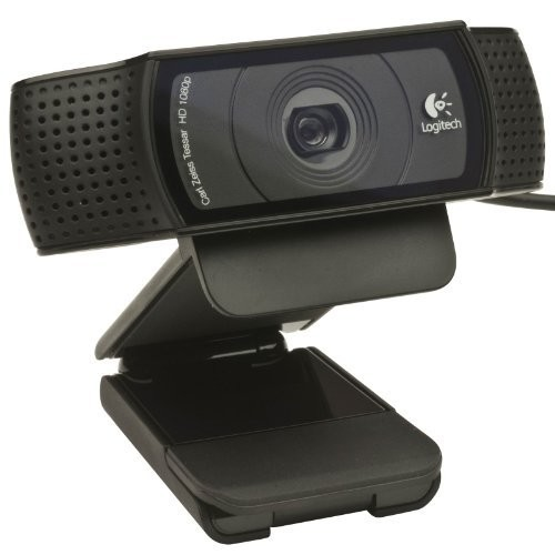 LOGITECH C920 HD PRO WEBCAM BLACK
