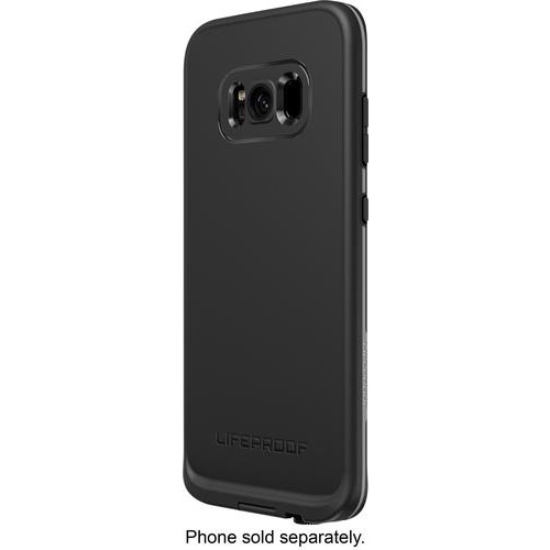 LifeProof - Fre Protective Water-resistant Case for Samsung Galaxy S8+ - Asphalt black