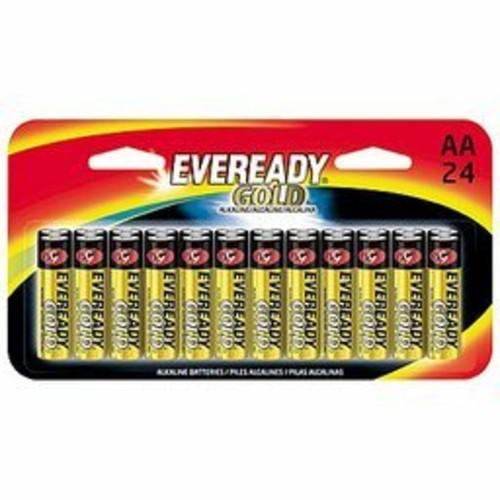 Eveready Gold AA Alkaline Batteries 24 Pack - A91BP24HT