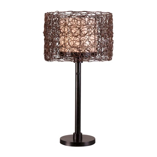 Kenroy Home 32219BRZ Tanglewood Outdoor Table Lamp