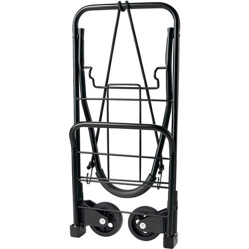 Travel Smart by Conair TS-34FFC Flat Folding Multi-Use Luggage Cart, Black [Black]