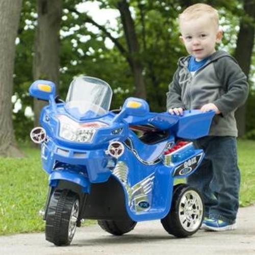 Lil' Rider 3-Wheel Battery Powered FX Sport Bike in Blue