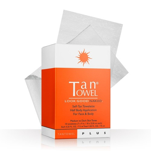 TanTowel 10-pk. Plus Self-Tan Towelettes Half Body Application