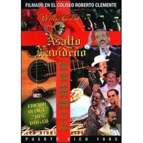 Willie Colon: Asalto Navideno - Puerto Rico 1993 [Deluxe Edition] [DVD/CD]