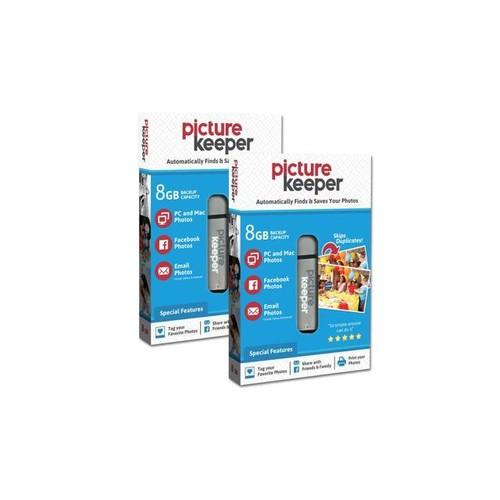 Picture Keeper Portable Flash Drive Photo Backup USB Drive 16GB