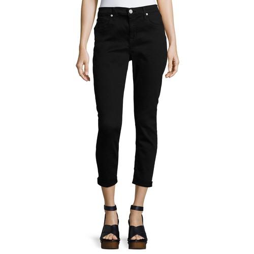 Harkin Rolled-Cuff Crop Jeans