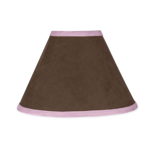 Sweet Jojo Designs Soho Pink and Brown Collection Lamp Shade