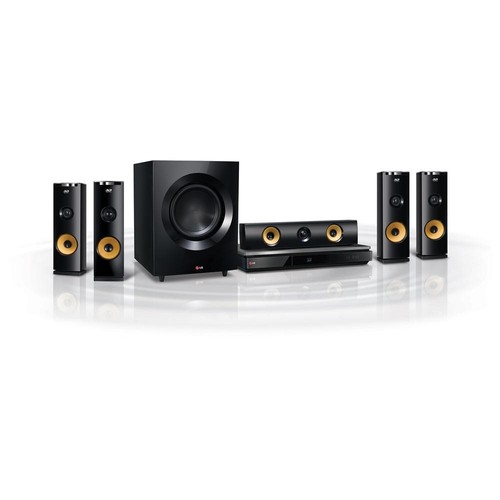 LG BH9230BW 9.1 3D Home Theater System with Blu-ray Player - 1460 W RMS - BH9230BW