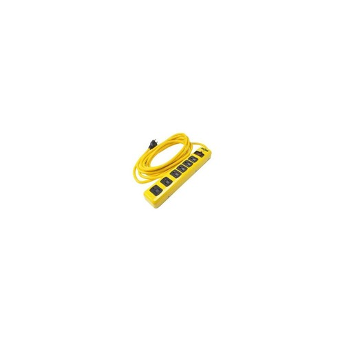 SOUTHWIRE 5138N WW 6 Outlet Met Strip 15 Cord